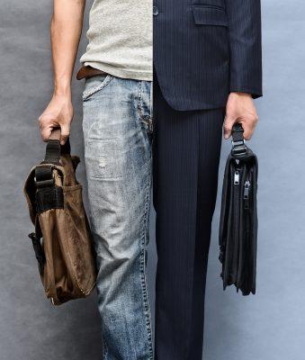 welke kleren dragen tijdens het werk
